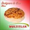 Dominguera de Coco Blanca  Peso 80 gr. Diámetro 7 cm, Alto 1.5 cm. Ingredientes: Coco, Azúcar, Glucosa, Saborizante y Colorante Artificial.