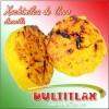Xochimilca de Coco Amarilla  Peso ? gr. Diámetro 8 cm, Alto 2.5 cm. Ingredientes: